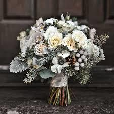 White and silver bouquet