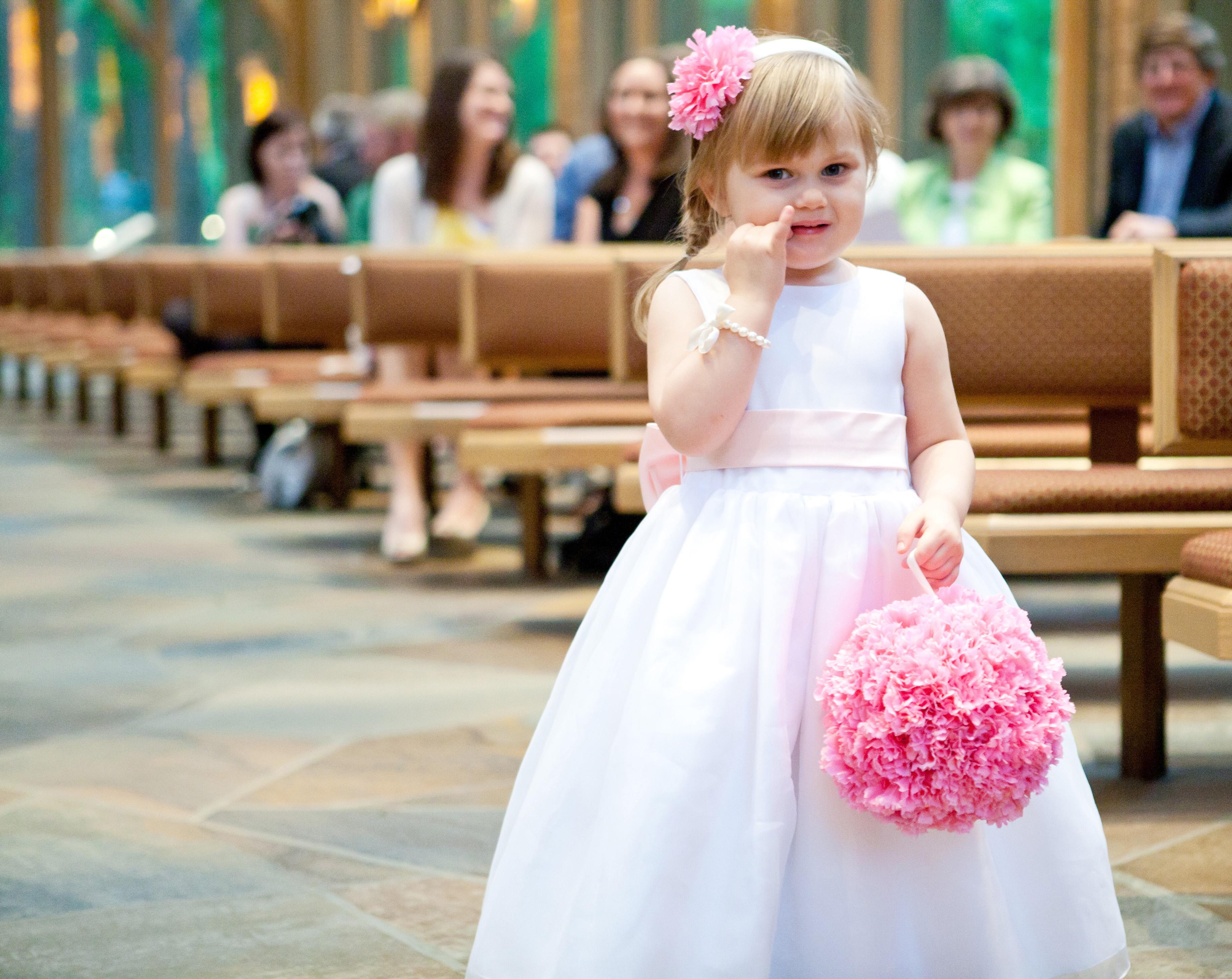 Wedding Flower Girl Flowers